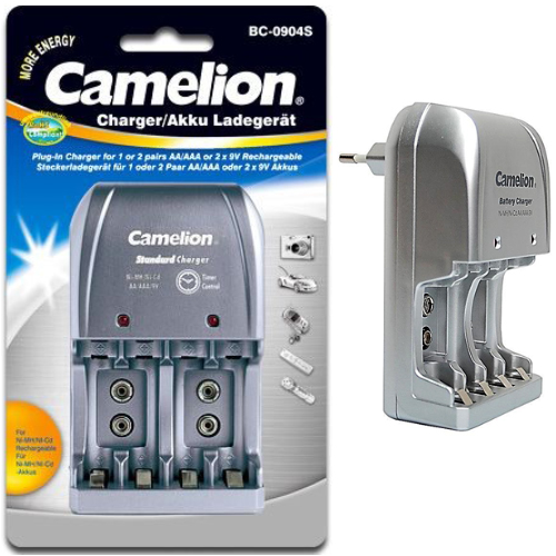 BC-0904S ΦΟΡΤΙΣΤΗΣ ΜΠΑΤΑΡΙΩΝ CAMELION AA/AAA 9V CAMELION