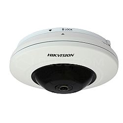 Κάμερα 4 MP IP Dome Fisheye HIKVISION DS-2CD2942F